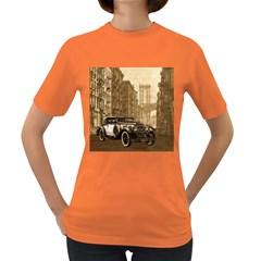 Vintage Old car Women s Dark T-Shirt