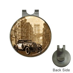 Vintage Old car Hat Clips with Golf Markers