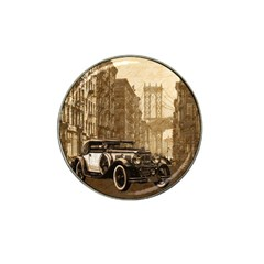Vintage Old car Hat Clip Ball Marker (10 pack)