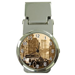 Vintage Old car Money Clip Watches