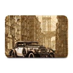 Vintage Old car Plate Mats