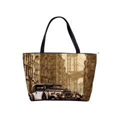 Vintage Old car Shoulder Handbags