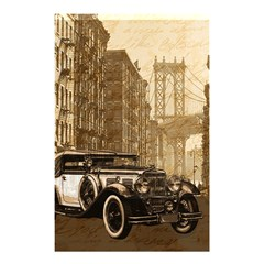 Vintage Old car Shower Curtain 48  x 72  (Small)