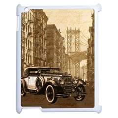 Vintage Old car Apple iPad 2 Case (White)