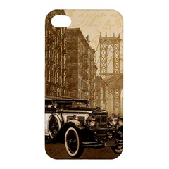 Vintage Old car Apple iPhone 4/4S Premium Hardshell Case
