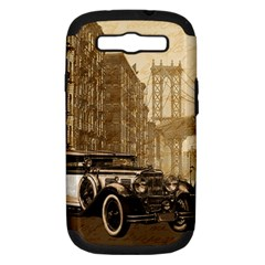 Vintage Old car Samsung Galaxy S III Hardshell Case (PC+Silicone)