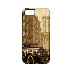 Vintage Old car Apple iPhone 5 Classic Hardshell Case (PC+Silicone)