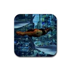 Urban swimmers   Rubber Coaster (Square)