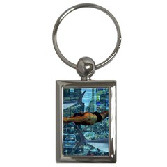 Urban swimmers   Key Chains (Rectangle)