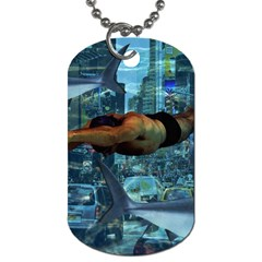 Urban swimmers   Dog Tag (Two Sides)