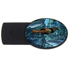Urban swimmers   USB Flash Drive Oval (4 GB)