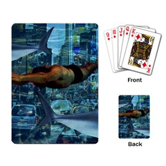 Urban swimmers   Playing Card