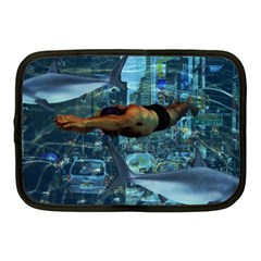 Urban swimmers   Netbook Case (Medium)