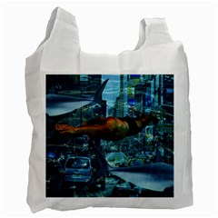 Urban swimmers   Recycle Bag (Two Side)