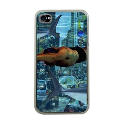 Urban swimmers   Apple iPhone 4 Case (Clear)