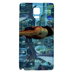 Urban swimmers   Galaxy Note 4 Back Case