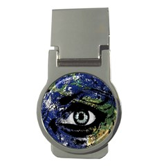 Mother Earth  Money Clips (Round)