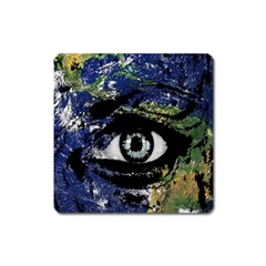 Mother Earth  Square Magnet