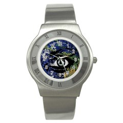 Mother Earth  Stainless Steel Watch