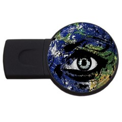 Mother Earth  USB Flash Drive Round (4 GB)