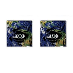 Mother Earth  Cufflinks (Square)