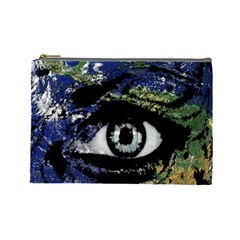 Mother Earth  Cosmetic Bag (Large)