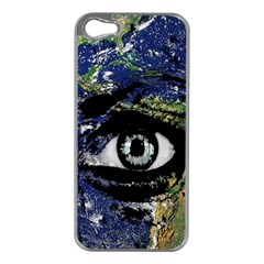 Mother Earth  Apple iPhone 5 Case (Silver)