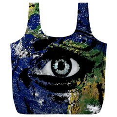 Mother Earth  Full Print Recycle Bags (L)
