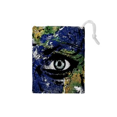 Mother Earth  Drawstring Pouches (Small)