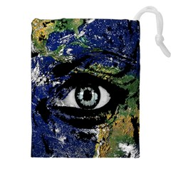 Mother Earth  Drawstring Pouches (XXL)
