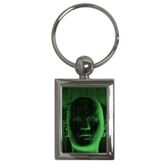 Code  Key Chains (Rectangle)