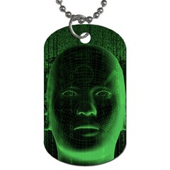 Code  Dog Tag (Two Sides)