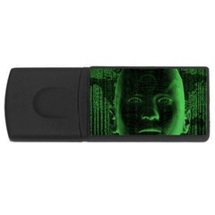 Code  USB Flash Drive Rectangular (2 GB)