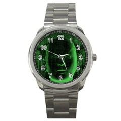 Code  Sport Metal Watch