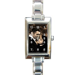 Gone with the Wind Rectangle Italian Charm Watch