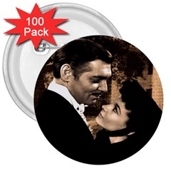 Gone with the Wind 3  Buttons (100 pack)
