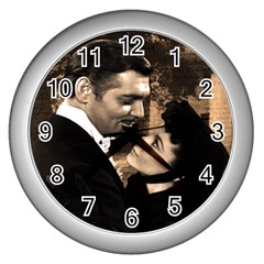 Gone with the Wind Wall Clocks (Silver)