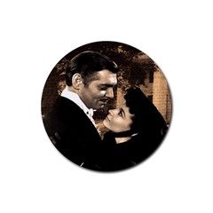 Gone with the Wind Rubber Round Coaster (4 pack)