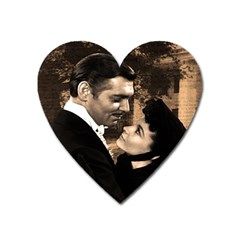 Gone with the Wind Heart Magnet