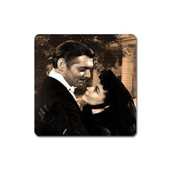 Gone with the Wind Square Magnet