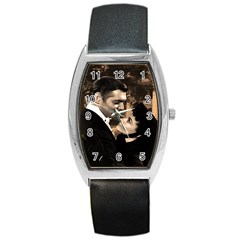 Gone with the Wind Barrel Style Metal Watch