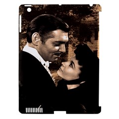 Gone with the Wind Apple iPad 3/4 Hardshell Case (Compatible with Smart Cover)