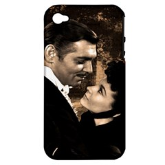 Gone with the Wind Apple iPhone 4/4S Hardshell Case (PC+Silicone)