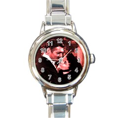 Gone with the Wind Round Italian Charm Watch