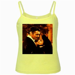 Gone with the Wind Yellow Spaghetti Tank