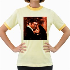 Gone with the Wind Women s Fitted Ringer T-Shirts
