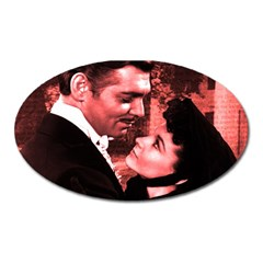 Gone with the Wind Oval Magnet