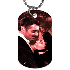 Gone with the Wind Dog Tag (Two Sides)
