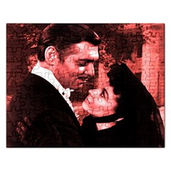 Gone with the Wind Rectangular Jigsaw Puzzl