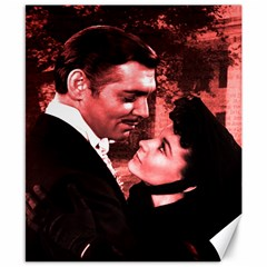 Gone with the Wind Canvas 8  x 10